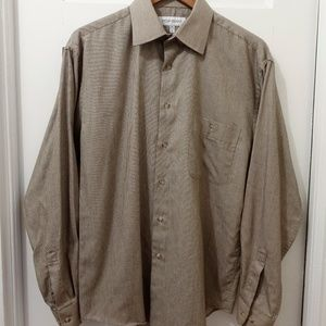 Yves Saint Laurent Mens M 15.5 I 34-35 Dress Shirt